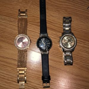 3 watches